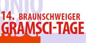 Logo 14. Braunschweiger Gramsci-Tage